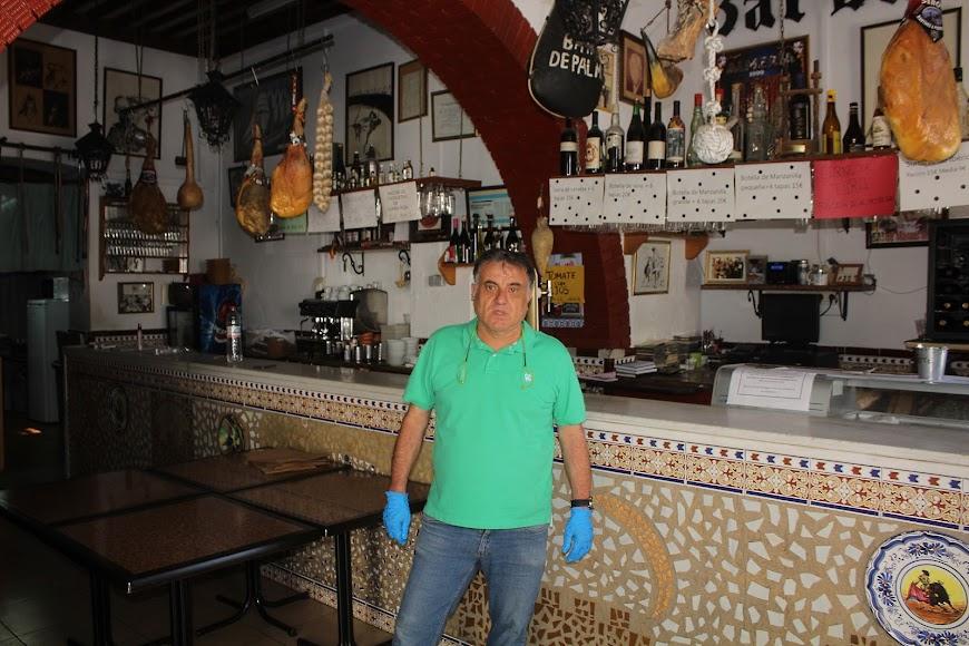 Bar Bahía de Palma, ubicado en la Plaza de la Administración Vieja, abrirá los próximos días.