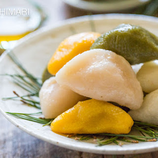 Songpyeon - Korean Rice Cake for Chuseok.