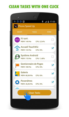 Phone Booster Android Speed up - screenshot