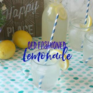 Old Fashion Lemonade Recipe
