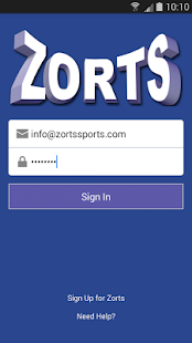 Zorts Sports- screenshot thumbnail