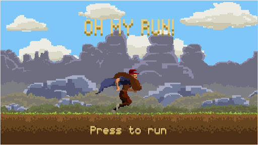 Oh My Run! (Forrest) apkmind screenshots 1