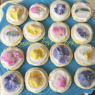 Lemon Iced Cookies.
