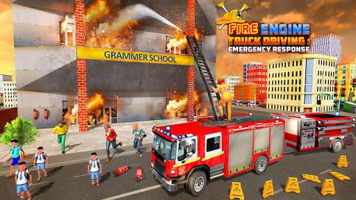 Fire Engine Truck Driving : Emergency Response 1.0.1 screenshots 8