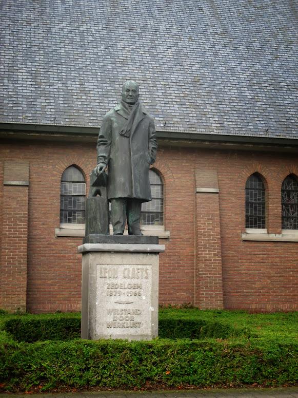 standbeeld Leon Claeys