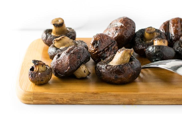 Smoked Mushrooms for Grill or Smoker Recipe