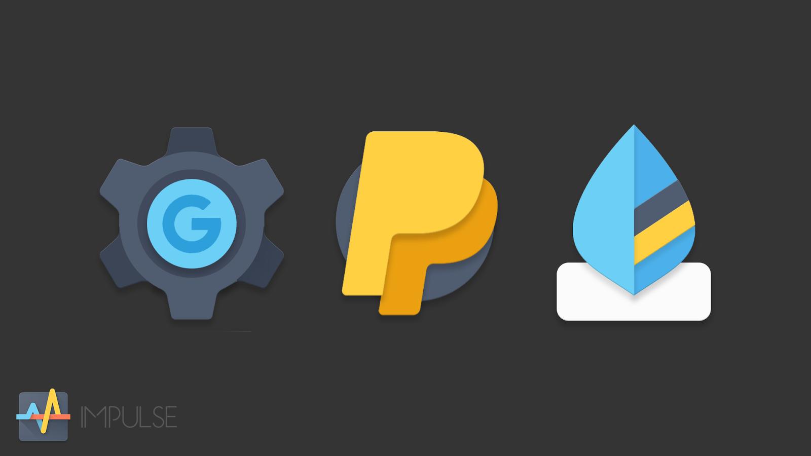 Impulse Icon Pack- tangkapan layar