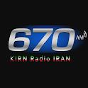 KIRN 670AM Radio Iran icon