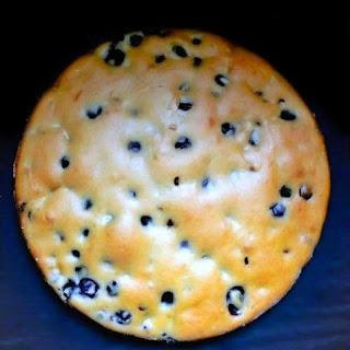 Eggless Blueberry - Coconut Rum Cake.