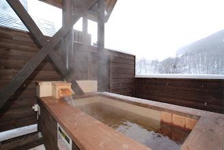 Photo: 温泉露天風呂 Outdoor Hot spring  室外浴池