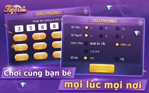 Tiu1ebfn Lu00ean Miu1ec1n Nam - Tien Len -Tu00e1 Lu1ea3-Phu1ecfm -ZingPlay 1.7.061105 screenshots 16