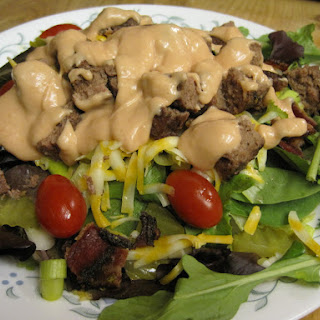 Bacon Cheeseburger Salad.