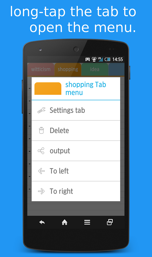 Tab Note   Simple Notepad- screenshot