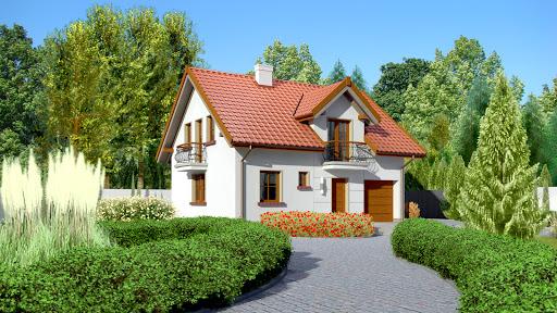 projekt Dom przy Alabastrowej 22