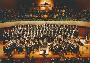 Photo: Dec 1999 Muziekgebouw Eindhoven - Volkskerstzang