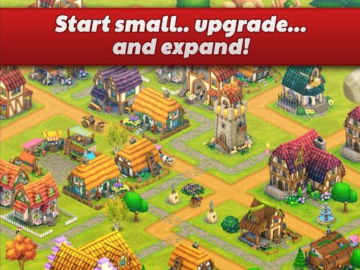 Town Village: Farm, Build, Trade, Harvest City  screenshots 9