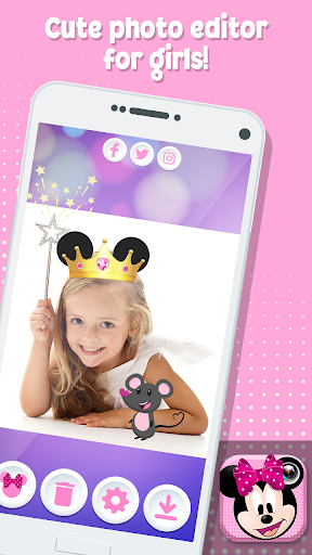 Minni Mouse Photo Stickers 1.0 screenshots 8