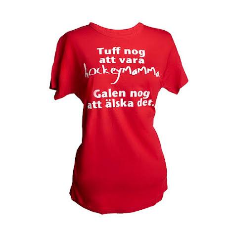 T-shirt - Tuff nog - röd
