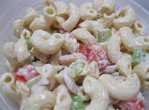American Macaroni Salad Recipe