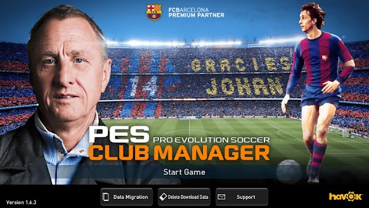 PES CLUB MANAGER 1.6.4