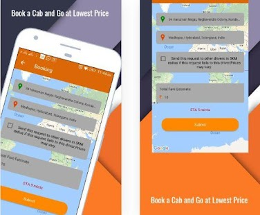 Vihik cabs- screenshot thumbnail