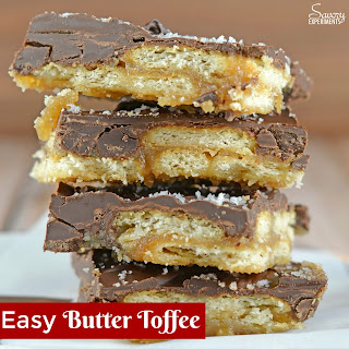 Easy Butter Toffee.