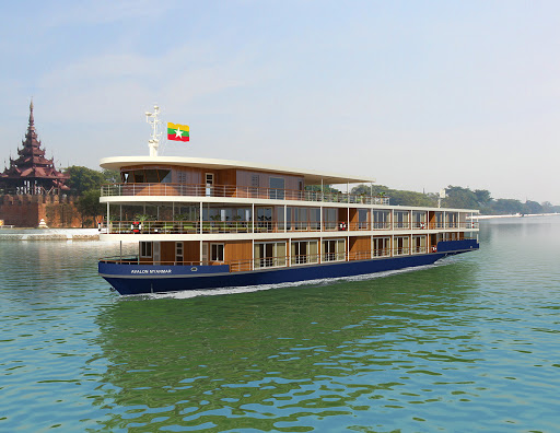 "Avalon-Myanmar-exterior - See the ""Golden Land"" on a cruise down the Irrawaddy River aboard Avalon Myanmar."