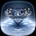 Diamond Live Wallpaper 💎 Glitter Backgrounds icon