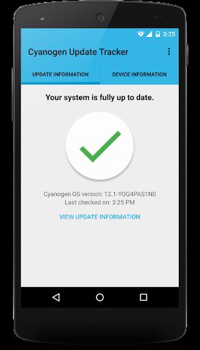 Cyanogen Update Tracker ss2