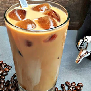 Homemade Iced Lattes.