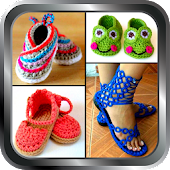 DIY Shoes Crochet Baby Booties Slipper ladies Home