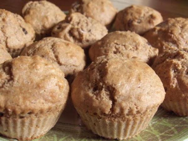 100% Whole Wheat Muffins Recipe