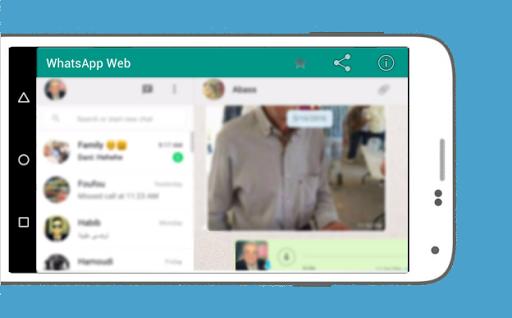 WhatsWeb For WhatsApp screenshot 4