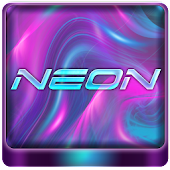 Neon Go Launcher theme
