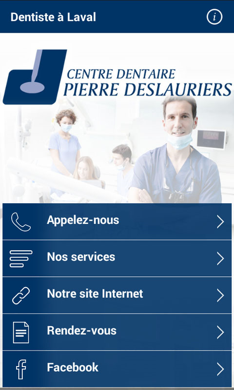Dentiste à Laval- screenshot