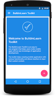 BuildmLearn Toolkit- screenshot thumbnail