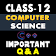 Class 12 Computer Science (C++) for PC-Windows 7,8,10 and Mac