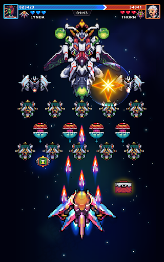 Galaxy Force - Falcon Squad - screenshot
