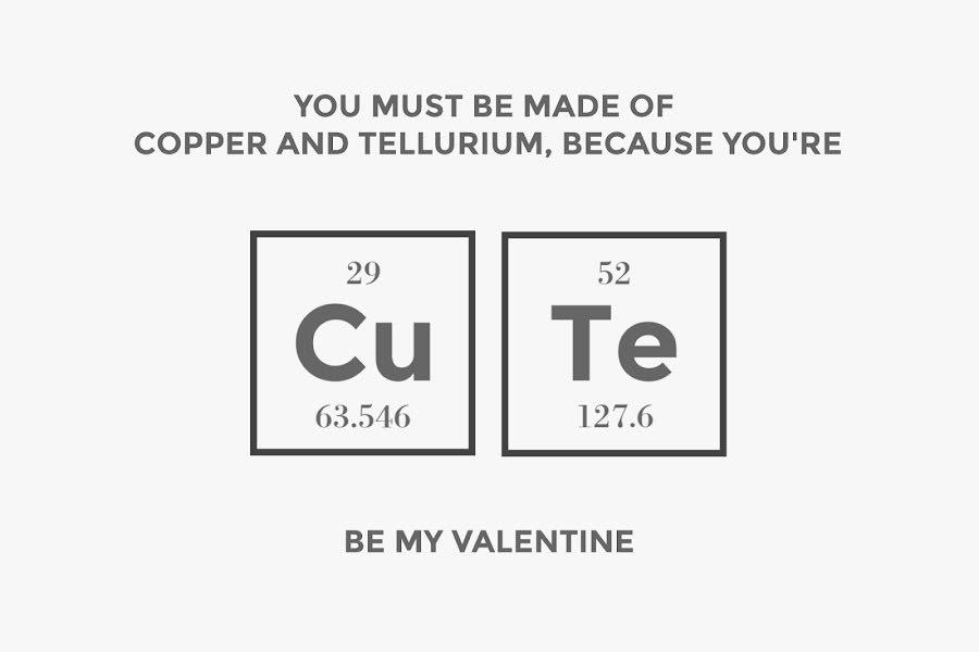 Copper & Tellurium - Valentine's Day Template