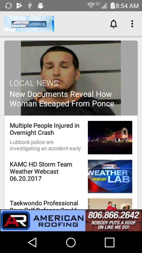 EverythingLubbock - KAMC KLBK- screenshot