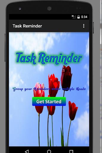Grouped Task Reminder