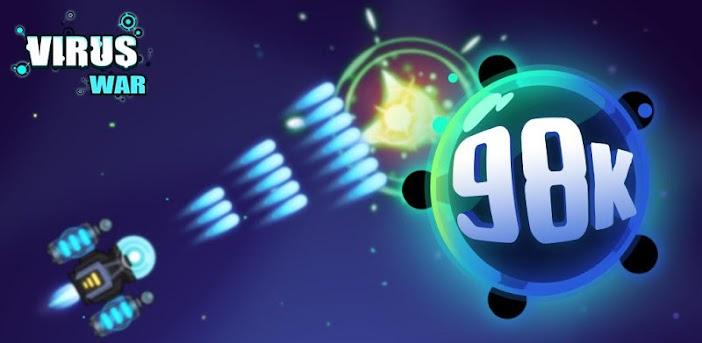 Virus War - Weltraum-Shooting-Spiel
