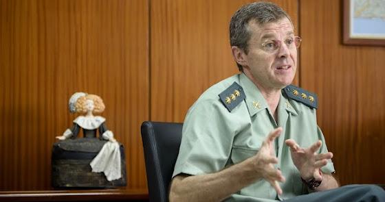 Arturo Prieto asciende a general y abandonará la Guardia Civil en Almería