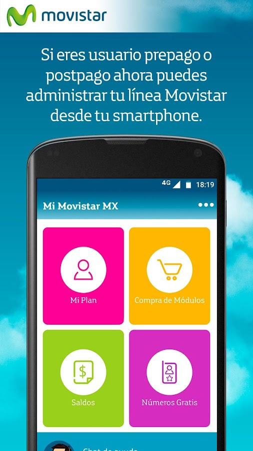 Mi Movistar MX: captura de pantalla
