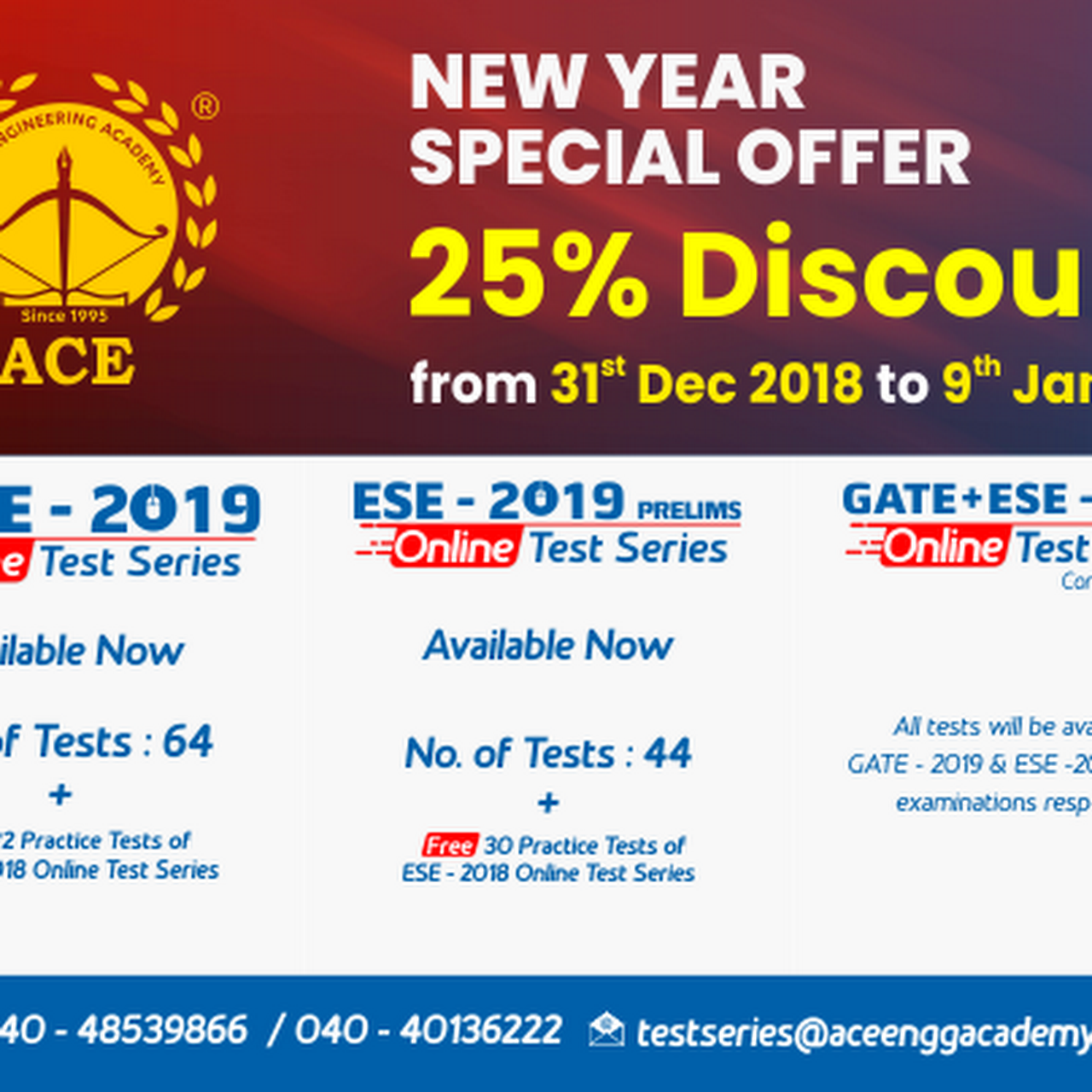 ace online test series 2019