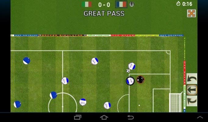Soccer simulator ONLINE - screenshot