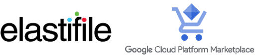 Elastifile and <br> GCP Marketplace logo