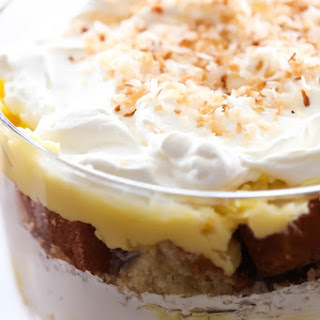 Coconut Cream Pie Trifle.
