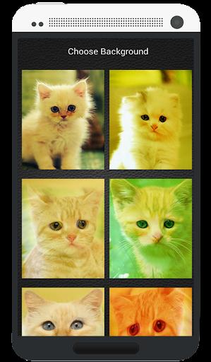 キティジッパーロック画面