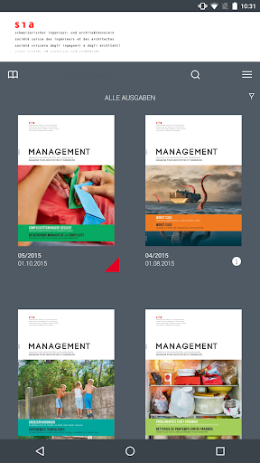 SIA Management Magazin